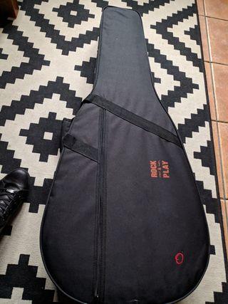 funda guitarra nueva