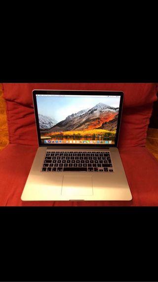 Ordenador MacBook Pro 15 pulgadas