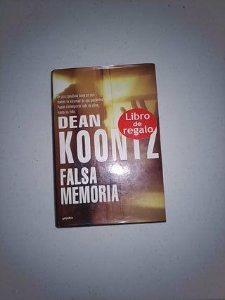 Falsa memoria de Dean Koontz