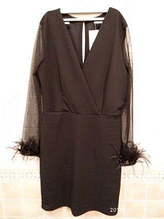 vestido negro 38/40