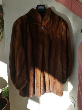Abrigo piel de bison
