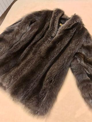 Abrigo piel Mapache