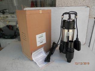 BOMBA SUMERGIBLE AGUAS FECALES HVT-750F