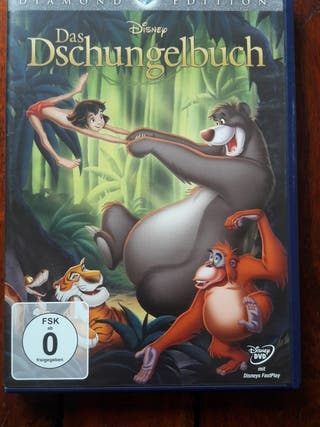 El libro de la selva en alemán/inglés