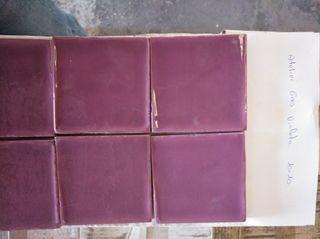 azulejo metro atelier violeta gres