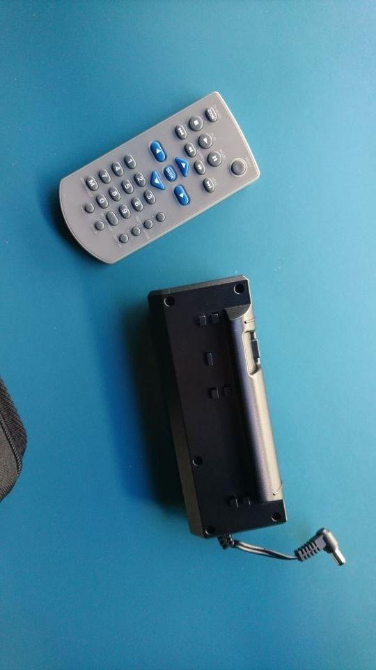 reproductor DVD portátil DVDs con batería