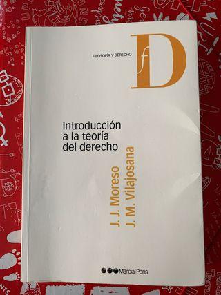 Libro Introducción a la teoría del derecho