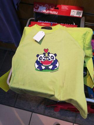 Camiseta KUKUXUMUSU NUEVA talla 6-8