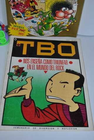 Tbo y Tebeos de hoy
