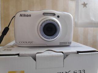 cámara fotos coolpix S33