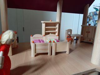 Preciosa casa de muñecas