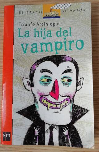 Libro literatura infantil La hija del vampiro