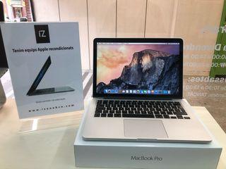 """MacBook Pro 13"""" 2015 i7 16GB 512SSD"""