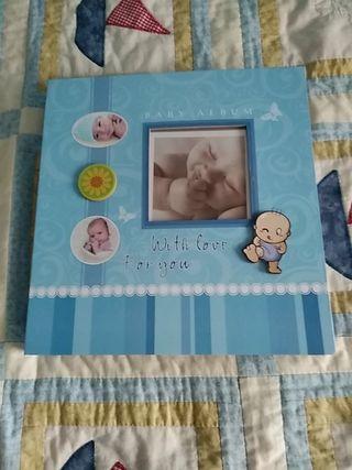 album recién nacido a estrenar en caja