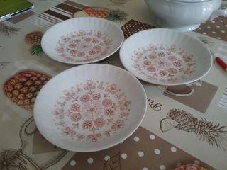 3 platos hondos