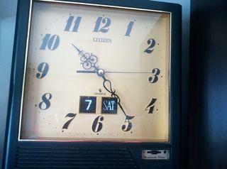 reloj antiguo citizen plaquetas flip OCASIÓN UNICA
