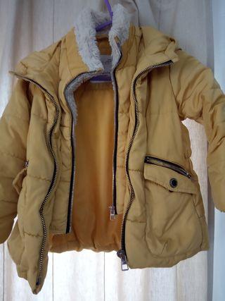 Abrigo niña talla 5 , 110 cm