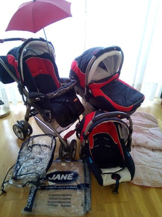 LOTE carrito de Bebé Jané