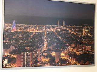 Cuadro fotografías de la ciudad de Barcelona