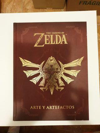 Libro THE LEGEND OF ZELDA ARTE Y ARTEFACTOS
