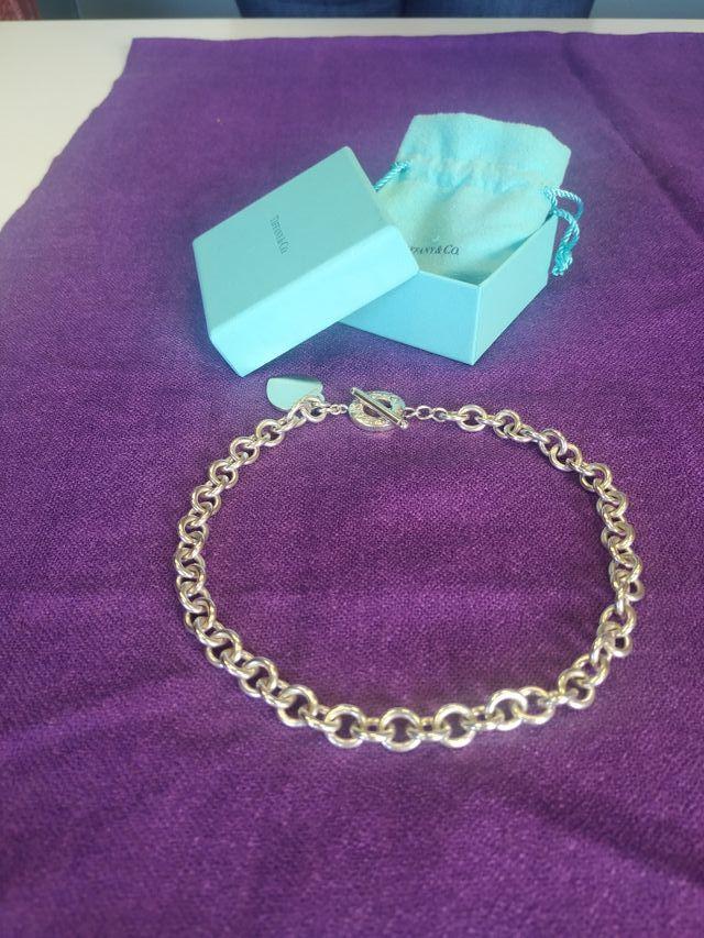 Collar de plata Tiffany