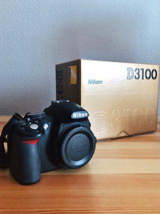Cuerpo cámara nikon d3100