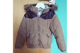 Abrigo niño marrón T 4/5 años