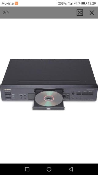 reproductor CDs DVD Onkyo