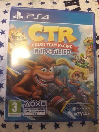 crash team racing PS4 nuevo