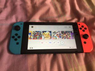 Nintendo Switch como nueva + Juegos