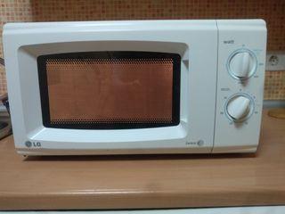 microondas LG con grill buen estado