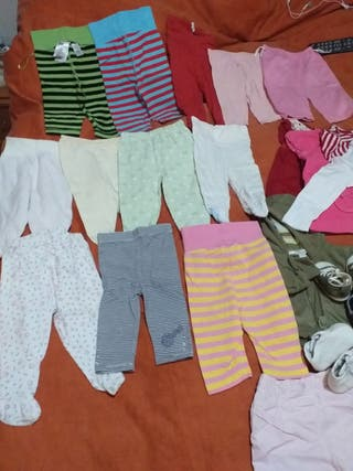 Lote ropa bebé 0-4 meses