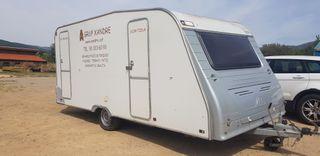 Caravana para trabajos con amianto