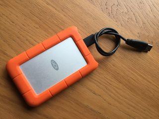 Lacie Rugged mini disco duro externo 500gb