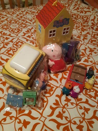 lote Peppa Pig family