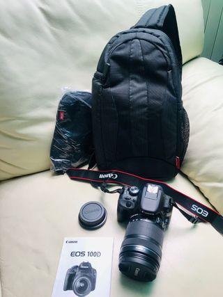 Cámara de fotos Digital Canon EOS 100D