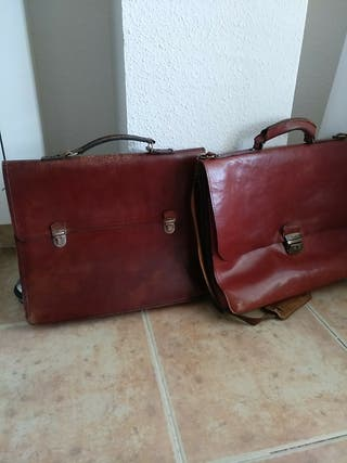 Carteras maletín piel antiguos