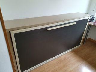Cama abatible en pared (90x190)