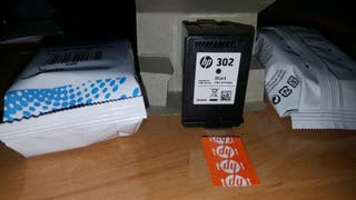 Tinta impresora HP 302 negro y color