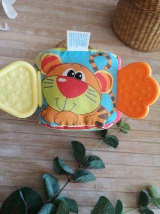juguete sonajero animales colores textura bebe