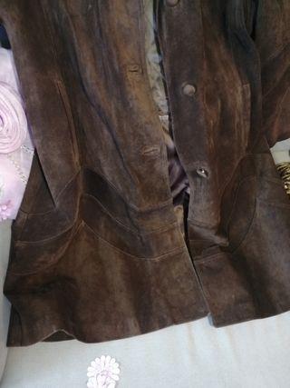 abrigo piel 3 cuartos