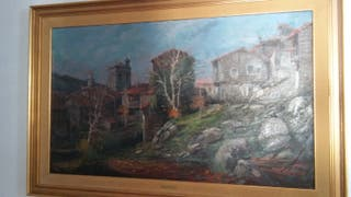 Óleo pintor valenciano Arnedo Linares
