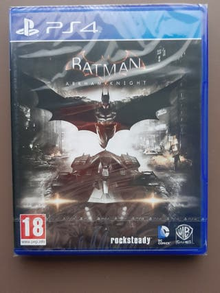 Juego Batman Arkham Knight ps4
