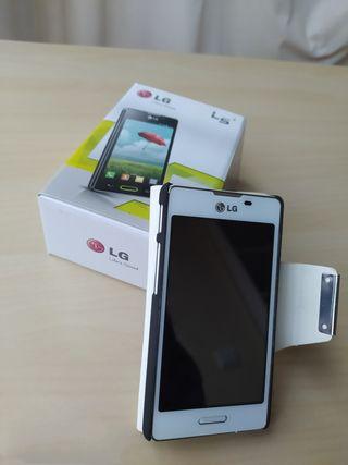 LG Optimus L5 II E-460 con funda y caja original