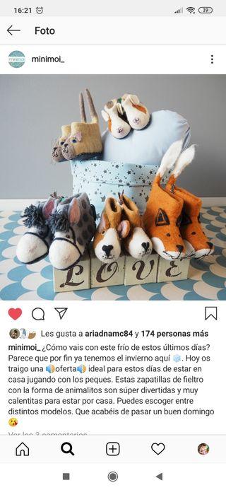 zapatillas Minimoi NUEVAS