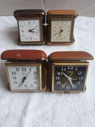 relojes de viaje antiguos