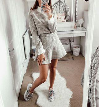 vestido combinado nuevo