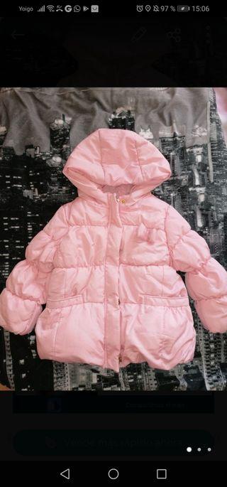 abrigo chaqueta niña