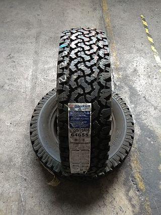 225 75 16 110S vendo neumáticos seminuevos al 99%