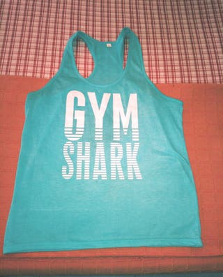 CAMISETA DE TIRANTES GYM SHARK